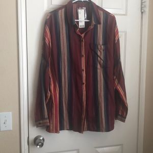 Urban outfitters over sized flannel XL